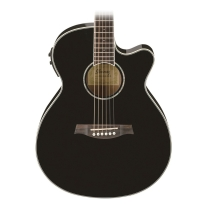 Ibanez AEG10IIBK Black Acoustic Electric Guitar