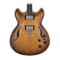 Ibanez Artcore AS73 Semi-Hollow Electric Guitar in Tobacco Brown