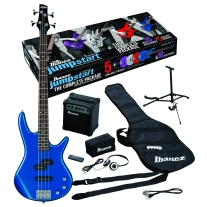 Ibanez IJXB150BL Jumpstart Bass Package in Blue