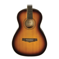 Ibanez PN15 Parlor Acoustic Guitar In Brown Sunburst Finish