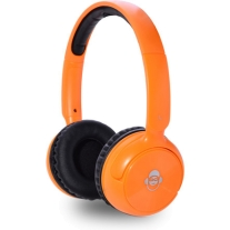iDance Audio BLUE100OR Orange 100 Bluetooth Headphones
