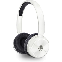 iDance Audio BLUE100W White 100 Bluetooth Headphones