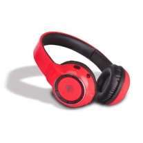 iDance Audio BLUE300R Red 300 Bluetooth Headphones