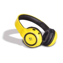 iDance Audio BLUE300YL Yellow 300 Bluetooth Headphones