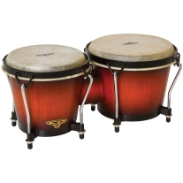 Latin Percussion CP221VSB CP Bongos in Vintage Sunburst Finish