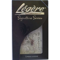 Legere BBSS250 Signature Series Bb Clarinet Single 2 1/2 Strength Synthetic Reed