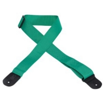 "Levy's 2"" Polypropylene Guitar Strap in Green"