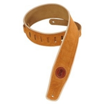 """Levy'S MSS3CP 2.5"""" Suede Strap in Honey"""