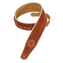 """Levy'S MSS3CP 2.5"""" Suede Strap in Rust"""