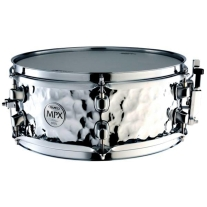 Mapex MPX 12x5 Hammered Steel Snare Drum