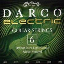 Martin Darco D9300 Electric Guitar Strings Light Gauge