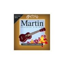 Martin M630 Baritone Ukulele Strings- Clear Fluorocarbon