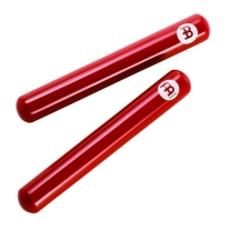 Meinl CL7R Fiberglass Red Claves