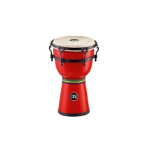 Meinl HDJ200R Fiberglass Mini Dancing Djembe in Red