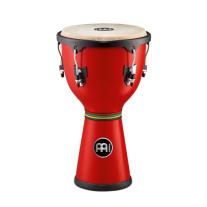 Meinl HDJ400R Fiberglass Dancing Djembe Drum 12x22 3/4 Red