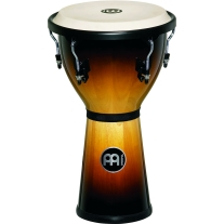 "Meinl 12"" Djembe Drum in Vintage Sunburst Finish"