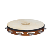 "Meinl TAH1AAB 10"" Traditional Single Row Tambourine"