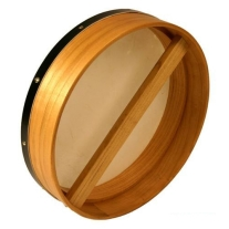 Mid East BTG4MS Bodhran Drum with Tipper 3.5x14 Mulberry Wood
