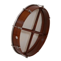 Mid-East Roosebeck Tunable Bodhran with Cross-Bar and Fiberskyn Head