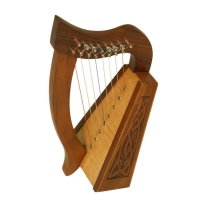 Mid East HLLA-K Lily Harp Knotwork 8 String