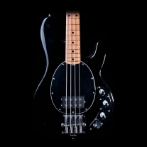 Ernie Ball Music Man Classic Stingray 4 String Bass in Black with Case