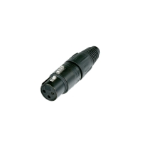 Neutrik NC3FX-B 3 Pole Female XLR Connector