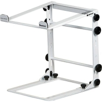 Odyssey LStandM Folding Stand in White