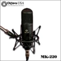 Oktava MK-220 Multi-Pattern Large Diaphragm Condenser Microphone