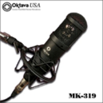 Oktava MK-319 Fixed Pattern Cardioid Studio Microphone