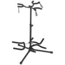 On Stage Triple Guitar Stand in Black