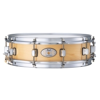 "Pearl 13x3"" Natural Finish Maple Piccolo Snare Drum"