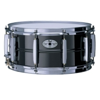 Pearl STE1465BR Sensitone Elite Brass Shell 6.5x14 Snare Drum in Black Nickel