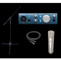 Presonus Audiobox iOne Stellar Recording Bundle