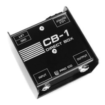 Proco Sound CB1 Direct Box