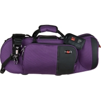 Protec PB301TLPR Travel Light Trumpet Pro Pac Case in Purple