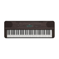 Yamaha PSR-E360 Portable Keyboard - Dark Walnut