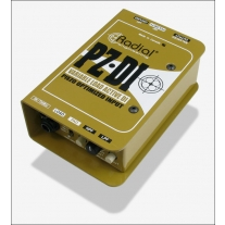 Radial PZ-DI Peizo and Magnetic Pickup Selector / DI
