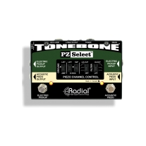 Radial PZ Select Electric Acoustic Instrument and Pickup Selector