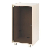 Raxxess ERKD20 Plexi Door with Lock for 20-Space Rack