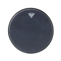 "Remo 12"" Black Suede Emperor Drum Head"