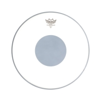 "Remo 10"" Controlled Sound Coated Black Dot Bottom Bass Drum Head"