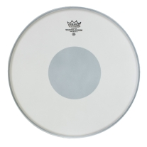 "Remo CS-0113-10 13"" Controlled Sound Coated Black Dot Bottom Drum Head"