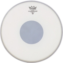 "Remo 15"" Controlled Sound Coated Black Dot Drum Head"