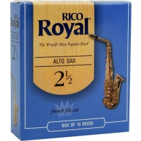 Rico Royal Alto Sax 10 Box #2.5 Strength