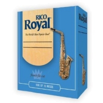 Rico Royal Alto Saxophone Reeds 10 Per Box #5 Strength