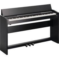 Roland F-120-SB Contemporary Digital Piano in Satin Black Finish