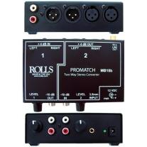 Rolls MB15B ProMatch Stereo Signal Converter Direct Box