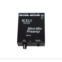 Rolls MP13 Mic Pre with Phantom Power