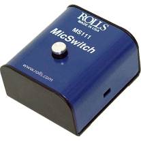 Rolls MS111 Mic Switch-Latching or Momentary Microphone Mute