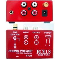 Rolls VP29 Vinyl Turntable Phono Preamp